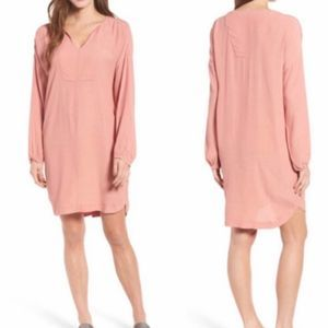 Madewell Du Jour Rosewood Tunic Dress Size S NWT